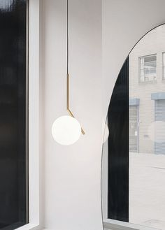 ic1. Part of the IC Lights family, and recently debuted for FLOS. Designed by Michael Anastassiade.