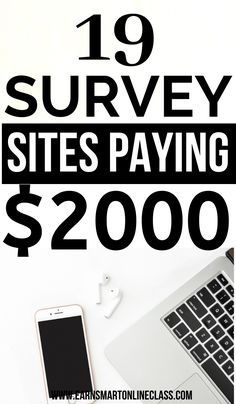 Need online surveys that make money? Here are awesome paid online surveys that pay well. You work in your free time and still make extra cash on the side. Online Surveys For Money, Online Income, Online Earning, Earn Money Online, Get Paid Online, Best Online Jobs, Make Money Now, Make Money From Home, Making Extra Cash