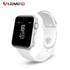 LEMFO Bluetooth Smart Watch LF07 SmartWatch for Apple IPhone IOS Android Smartphones Looks Like Apple Watch Reloj Inteligente //Price: $56.87//     #storecharger