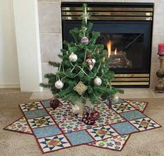 Christmas Tree Skirt Kit