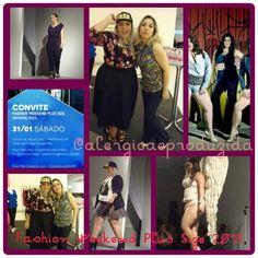 Evento, edição, Fashion, Weekend, Plus Size, Alérgica e Produzida, beleza, Jú Romano, fwps, glamour, look, mulher, desfile, moda, red carpet, sexy, style, tendência,
