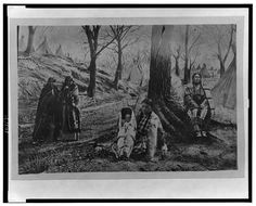 Kansa tribe, KAW Indian camp, 1872  (Source: Library of Congress)