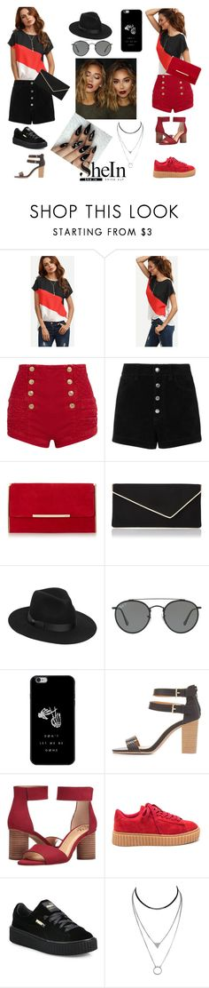 """""""Amazing shirt"""" by tate-mafa ❤ liked on Polyvore featuring Pierre Balmain, rag & bone/JEAN, L.K.Bennett, Lack of Color, Ray-Ban, Charlotte Russe, Vince Camuto and Puma"""