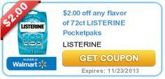 NEW high-value $2/1 Listerine Pocketpaks printable coupon (for CVS ECB deal!) - http://printgreatcoupons.com/2013/10/23/new-high-value-21-listerine-pocketpaks-printable-coupon-for-cvs-ecb-deal/
