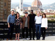 Tom Hanks, Sidse Babett Knudsen, Ron Howard, Omar Sy, Dan Browne & Felicity Jones