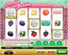 The Double Bubble slot game is one of the best video #slot games from #Gamesys. http://www.doublebubbleslots.co.uk/double-bubble-slot/
