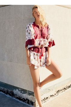 Womens KISSED BY THE SUN SET - Bohemian Summer Fashion Trend 2017