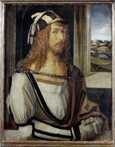 15th century portraits | RENAISSANCE PAINTING 15TH CENTURY Duerer, Albrecht Self-Portrait ...