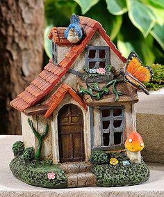 Butterfly & Mushroom Fairy House | zulily