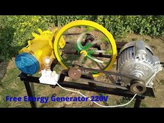 Tech Discover How to Make Free Energy Generator With Alternator And 1 hp Motor Recycle Free Electricity Chemical Engineering, Electrical Engineering, Solar Energy, Solar Power, Solar Charging Station, Solar Water Pump, Power Generator, Energy Projects, Survival Equipment