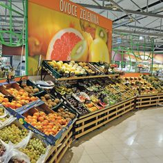 fruits and vegetables display table - Google Search