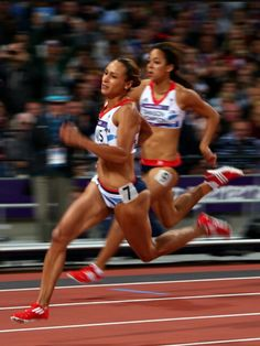Olympic Sports, Olympic Games, Fit Black Women, Fit Women, Zumba, Katarina Johnson Thompson, Athleisure, Jessica Ennis, Heptathlon