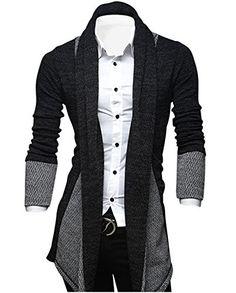 Tom's Ware Mens Classic Slim Fit Marled Zigzag Shawl Collar Cardigan TWGG1308-BLACK-L (US M) Tom's Ware http://www.amazon.com/dp/B00IKBWW9I/ref=cm_sw_r_pi_dp_0hPAub14DK8XK