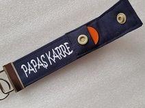 PAPAS KARRE - Schlüsselband mit Einkaufschip - Geschenk für Vater - Schlüsselband zum Vatertag