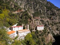 Proussos monastery, Evrytania (Evritania), Greece