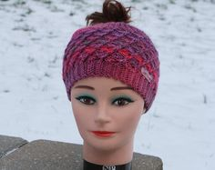 for ponytail hat – Etsy CA