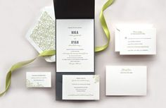 Invitations by kimberlyfitzsimons.com    Read more - http://www.stylemepretty.com/2013/03/20/spring-wedding-invitation-round-up/