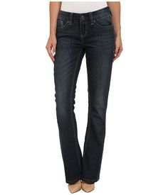 $29.99 Seven7 Jeans Button Jeans in Buckley Blue