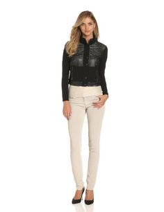 Plenty by Tracy Reese Women's Faux Perforated Moto Jacket, Black, 6 Plenty by Tracy Reese http://www.amazon.com/dp/B00DU7SGQ0/ref=cm_sw_r_pi_dp_L2fNub1C55G36