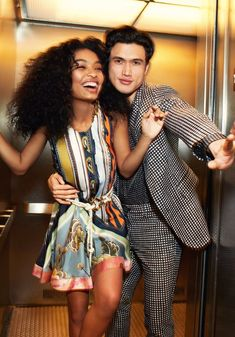 Yara Shahidi and Charles Melton Are Lighting Hollywood (and Your Fave YA Novel) on Fire - Meet Our May Cover Stars! : Yara Shahidi and Charles Melton Are Lighting Hollywood (and Your Fave YA Novel) on Fire - Meet Our May Cover Stars! Mixed Couples, Black Couples, Cute Relationship Goals, Cute Relationships, Couple Biracial, Trevor Jackson, Interacial Couples, Just Jared Jr, Interracial Love