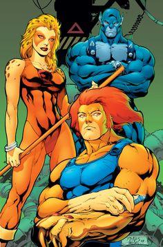 Panthro, Chitara e Lion - Thundercats