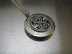 Doctor Who Seal of Rassilon Locket Necklace