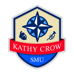 """The symbols on the Kathy Crow Commons crest are meaningful and describe the foundation of our community.""  Find out more by clicking on the link!"