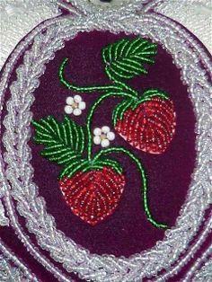 strawberry beadwork - Google Search