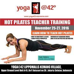 Learn how to teach inferno pilates. Teacher training in jakarta! Pilates Teacher Training, Hot Pilates, Bikram Yoga, How To Level Ground, Jakarta, The Unit, Teaching, Learning, Education