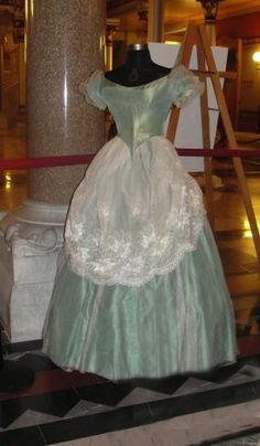 Some of the dresses from UConnís Historical Costume and Textile Collection that will be displayed in the Capitolís Hall of Flags into the ne...