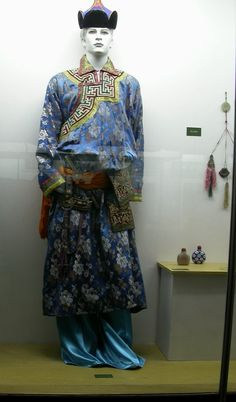mongolian attire for men
