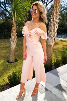 Share to save on your order instantly! Story Of A Girl Jumper: Baby Pink Long Jumpsuits, Playsuits, Pink Jumper, Girls Jumpers, Dottie Couture, Spring Outfits, Fashion Show, Cute Outfits, Style Inspiration