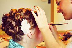 Bridal Hair and Makeup #hairbywhitney #makeupbywhitney