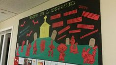 Don't be a monster! Celebrate diversity. Passive RA board for Oct.