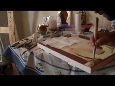 Water Gilding Daniel B. 1 - YouTube Gold Work, Gold Gilding, Painting Videos, Christian Art, Religious Art, Painting Techniques, Gold Leaf, Love Art, Art Tutorials