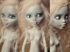 Customized Monster High Doll Laguna #customized #doll #monsterhigh