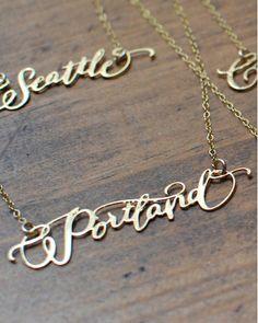 Portland Necklace (Like Typo)