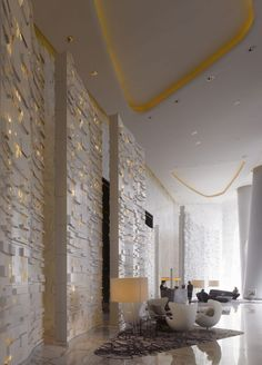 FEATURE WALL IFC Guangzhou / Wilkinson Eyre Architects