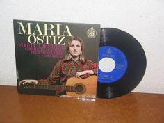 María Ostiz     7´´  Mega Rare Extended Play Spain 1968