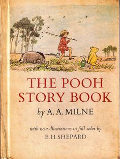 A.A. Milne The Pooh Story Book Vintage 1965