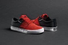 Red And Black Stacks Vulc