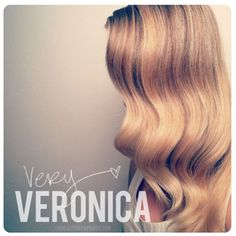 How-to: DIY Veronica Lake-esque waves!