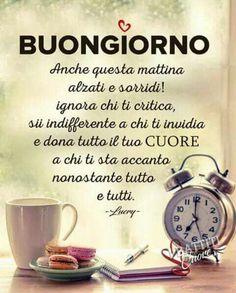 Italian Quotes, Learning Italian, Good Morning Good Night, Choose Joy, Life Moments, Messages, Zodiac Quotes, Stress, Wisdom