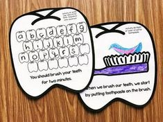 Dental Health Month Activities for Kindergarten by Simply Kinder Health And Physical Education, Science Education, Dental Teeth, Dental Care, Teaching Calendar, Lego Math, Dental Health Month, Human Body Unit, Space Activities