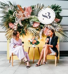 """""""Prove Them Wrong""""—Danielle Bernstein on Haters, Pay Transparency, and Building a Digital Empire — Create + Cultivate Stage Design, Event Design, Centre City, Danielle Bernstein, Event Styling, Flower Wall, Corporate Events, Event Decor, How To Introduce Yourself"""