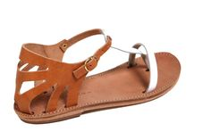 FREE SHIPPINGIthaca White/Natural A favorite by TheMerakiCompany, $90.00 Greek Sandals, Flat Sandals, Flats, Meraki, Cyprus, Trending Outfits, Natural, Unique Jewelry, Heels