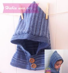 Gorro blanco para niños y bebés. Tejido a mano con lana acrílica y merino. 040da6c3ec5