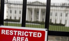'Dangling on the fence': White House fence-jumper makes it easy, hilariously nabs himself