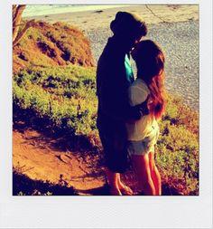 kisses on the beach :)