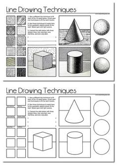 line drawing worksheet